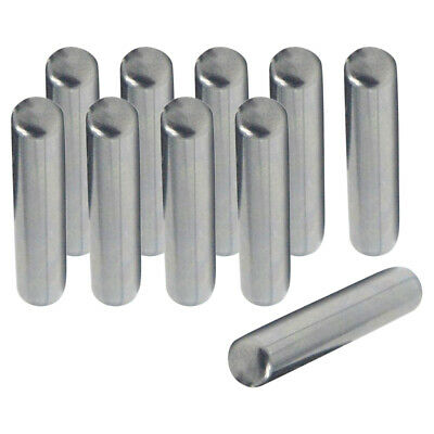 Carbon Steel Dowel Pins 0.16in Dia Roll Pin Tension Elements Select Size