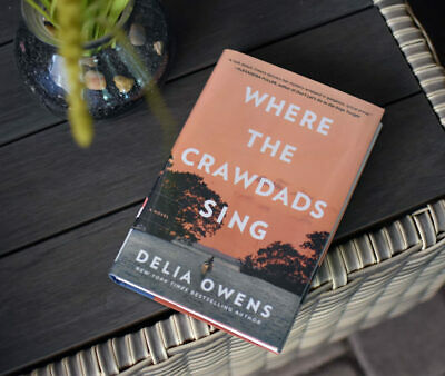 Where The Crawdads Sing by Delia Owens -24 hour deliver