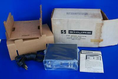 NEW Vintage Shure M64 Stereo Transistorized Phono/Microphone/Tape EQ Preamp
