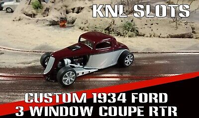 1/32 Scalextric resin 1934 ford custom hot rod
