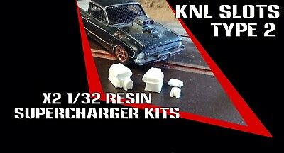 1/32 Scalextric resin supercharger kits X2 pack Type 2