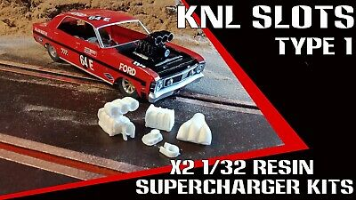 1/32 Scalextric resin supercharger kits X2 pack Type 1
