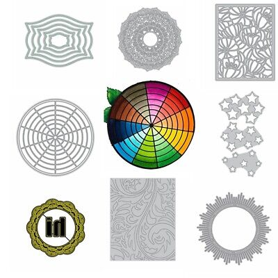 hot Regular Lace Square Frame Metal Cutting Dies Stencil Scrapbooking Embossing