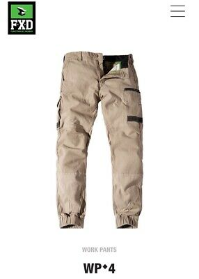 FXD - Men's  Cuffed Stretch Work Pant Trouser (WP4) 28 Waist