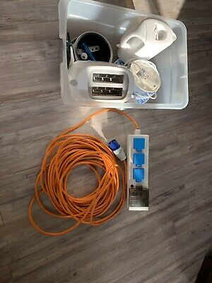 camping electric hook up cable