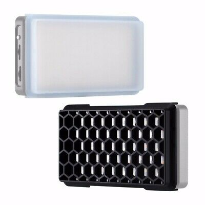 Honeycomb Grid and Diffuser Kit for Falcon Eyes F7 12W RGB LED Pocket Light