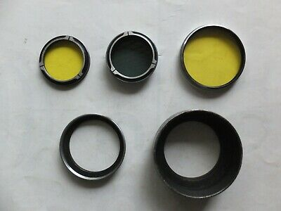 Job Lot Vintage Waltz Lens Filters/Rings  May Suit Leica Rollie Rollieflex