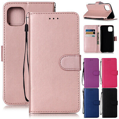 For iPhone 11 Pro Max Case 11 XS XR 8 7 Plus 6s Flip Leather Wallet Stand Cover