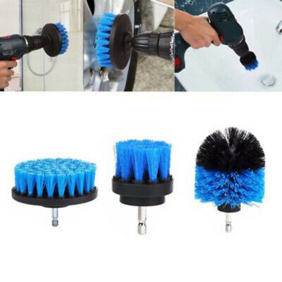 Electric Drill Cleaning Head Brush Plastic Power Scrubber For Tiles Tubs Sinks