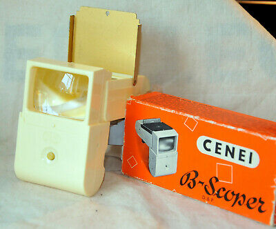 Cenei B-Scoper Diabetrachter Slide Viewer Originalverpackung 1950er