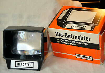 Reporter Diabetrachter Slide Viewer Originalverpackung