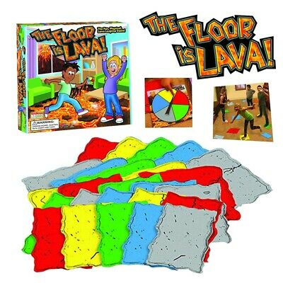 The Floor is Lava! Interactive Board Game for Kids and Adults (Ages 5+) Fun NEW