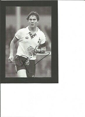 Paul Miller signed 8x6 inch  B/W photo, Footballer EL59
