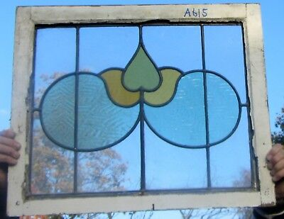 A615 Ca 1900s Stained glass