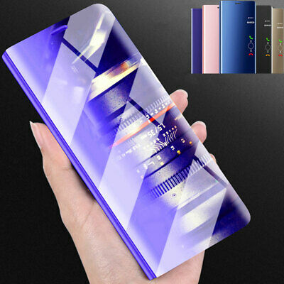 360° Clear View Mirror Case for iPhone 11 Pro XS Max/XR/X SE Flip Wallet Cover