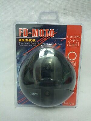 FD-MOTO Motorbike Ground Anchor Motorcycle Lock Point Bike Scooter Security