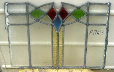 A743   Ca 1930s       Stained glass