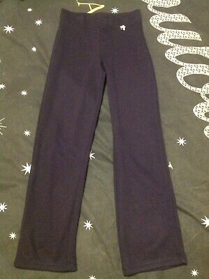 Girls Dark Blue School Trousers Age 7/8 Yrs