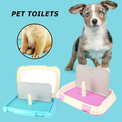 Portable Dog Cat Toilet Urinal Bowl Potty Bath Tray Pets Training Supplies UK