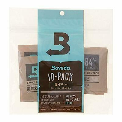 Boveda 84-Percent RH 2-Way Humidity Control, 8 Gram - 10 Pack