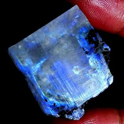 AAA+ NATURAL MIX FLASHING RAINBOW MOONSTONE SUPER LOOSE GEMSTONE 87.40Cts