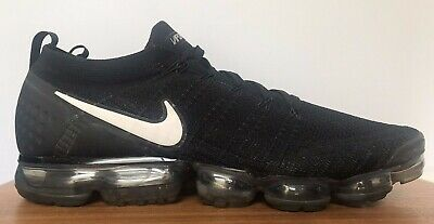Nike Air VaporMax Flyknit 2.0 Men's 15(M) US 14 UK 49.5 EU 942842 001 Black grey