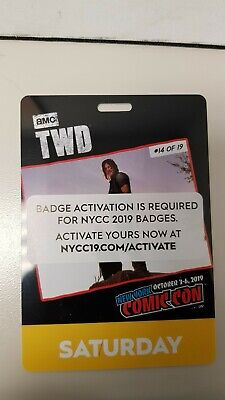 NYCC NEW YORK COMIC CON 2019 SATURDAY PASS activated