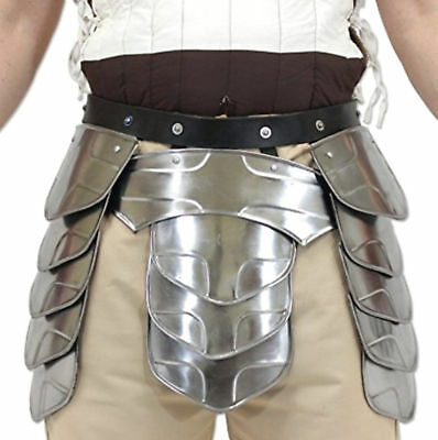 Medieval Armor Middle Age Knights Tasset Battle Plated Steel Waist Replica Item