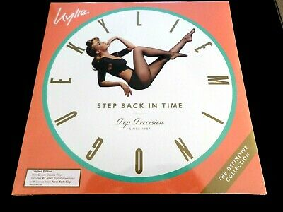 Kylie Minogue - Step Back In Time  -  Double  Mint Green  Vinyl  Lp  *New*