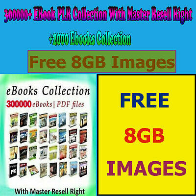300000+ PLR Collection with Free MRR PDF+2000 nonfiction +8GB Images
