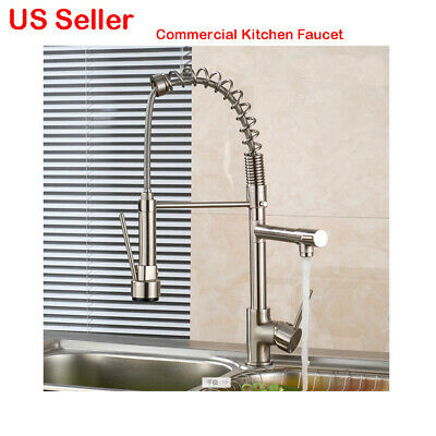 New Commercial Heavy Duty Kitchen Faucet Professional Hot Cold Water