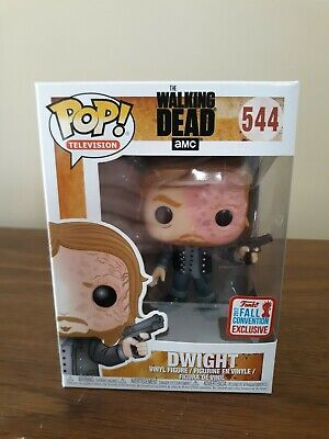 Funko Pop! The Walking Dead #544 Dwight Fall Convention Exclusive
