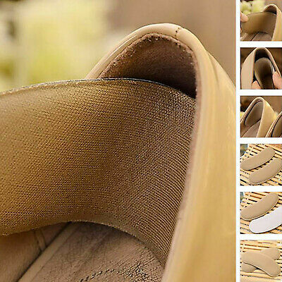 1 Pair Sticky Soft Comfy Shoe Pads Cushion Heel Liners Grips Back Inserts Insole