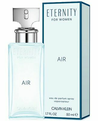 Eternity Air By Calvin Klein For Women-Edp-1.7 Oz-50 Ml-Authentic-Made In France
