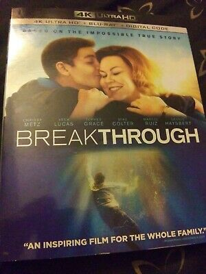 Breakthrough 4K Ultra Hd Blu Ray 2 Disc Set + Slipcover Sleeve No Digital