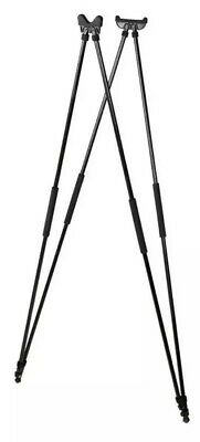 Seeland Decoy 4 Leg Quad Legged Shooting Sticks Black Stalking