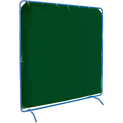 Draper 6 x 6 Welding Curtain with Frame - LIFETIME WARRANTY
