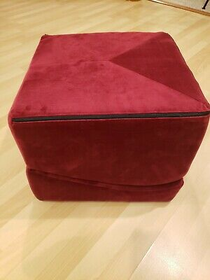 Liberator Flip Ramp Positioning Furniture for couples, red velvet merlot unused