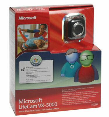 Microsoft Lifecam VX-5000 Webcam for PC USB World-Class Optics