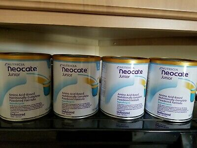 NEOCATE JUNIOR, Unflavored (Case of 4 Cans)**USPS PRIORITY Mail**FREE SHIPPING**