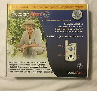 Freedom Alert Personal Emergency Response System Dialer 35911 LogicMark Small
