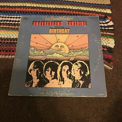 Underground Sunshine Let There Be Light LP Intrepid IT 74003 Chris Connors 1969