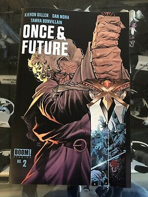 Once And Future #2 (2019) Boom! Studios First Printing Cover A Mora Gillen