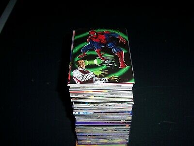 1994 Marvel Flair Partial Comic card base set - 125 unique cards no duplicates