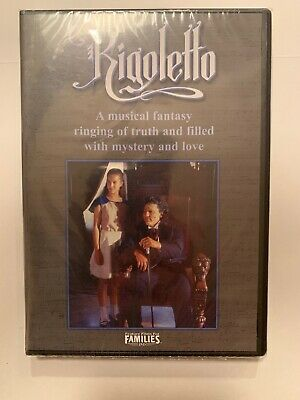 RIGOLETTO (DVD, 2004) Brand New Factory Sealed Free Shipping