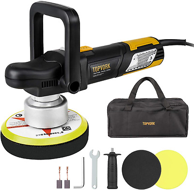 "Polisher, Ginour Car Sander Polisher 6"" Dual-Action Car Buffer/Waxer, High Kit &"