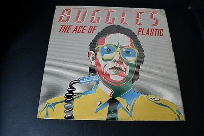 Buggles ‎– The Age Of Plastic Vinyl LP 1980 Island Records ‎– ILPS 9585