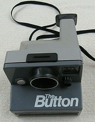 "Polaroid ""The Button"" Land Camera SX-70 Instant Camera"