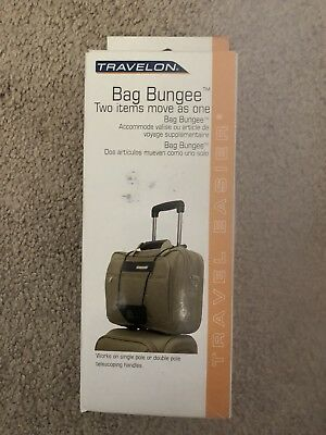 Travelon Luggage Strap Bag Bungee Holder Safety Security Travel Accessory New