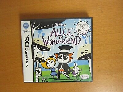 Alice in Wonderland (Tim Burton) - Nintendo DS - Used / Complete
